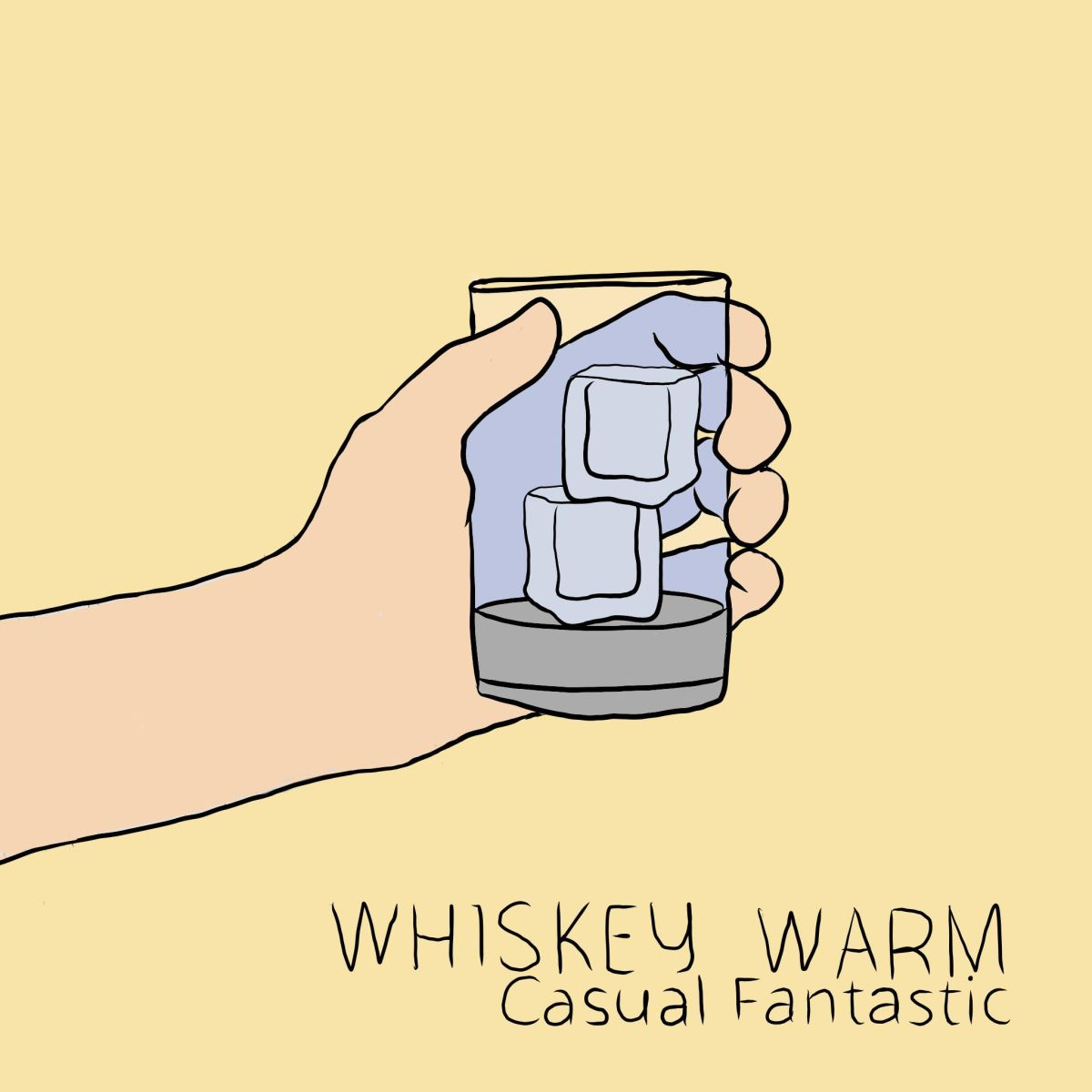 Whiskey Warm, Casual Fantastic's debut single, outnow!